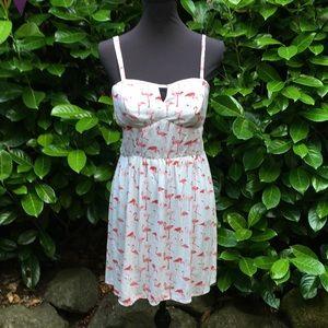Pink Flamingo sun dress.  Size large